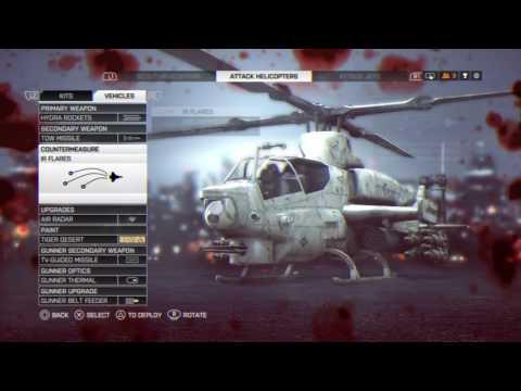 220-2 Attack Chopper Shanghai C Flag Farming   BF4