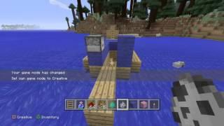 Minecraft: PlayStation®4 Edition TNT Cannon Test!