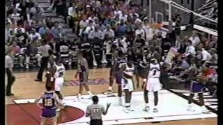 Terry Porter (41pts), Clyde Drexler (36pts), Vs Utah 1992 Playoffs