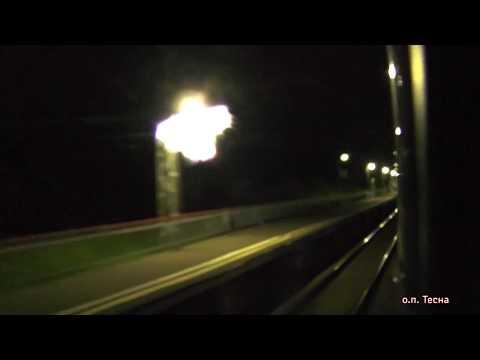 Кашира — Ожерелье — Узуново из окна поезда