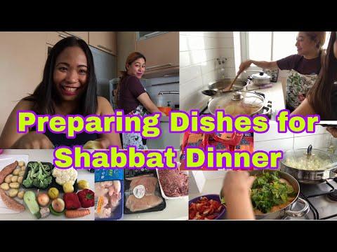 PREPARING DISHES FOR SHABBAT DINNER || ISRAELI FOOD || Smilymyles