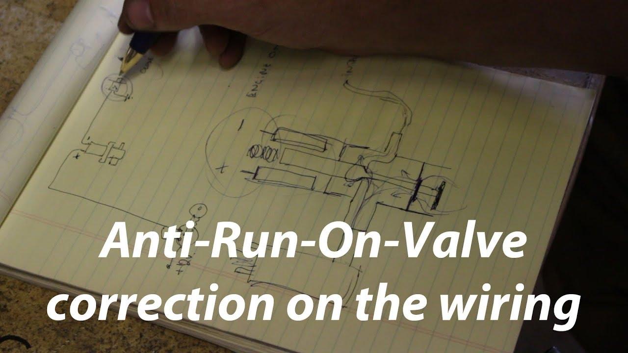 1973 Triumph Tr6 Restoration Part 32 Anti Run On Valve Correct Wiring Youtube