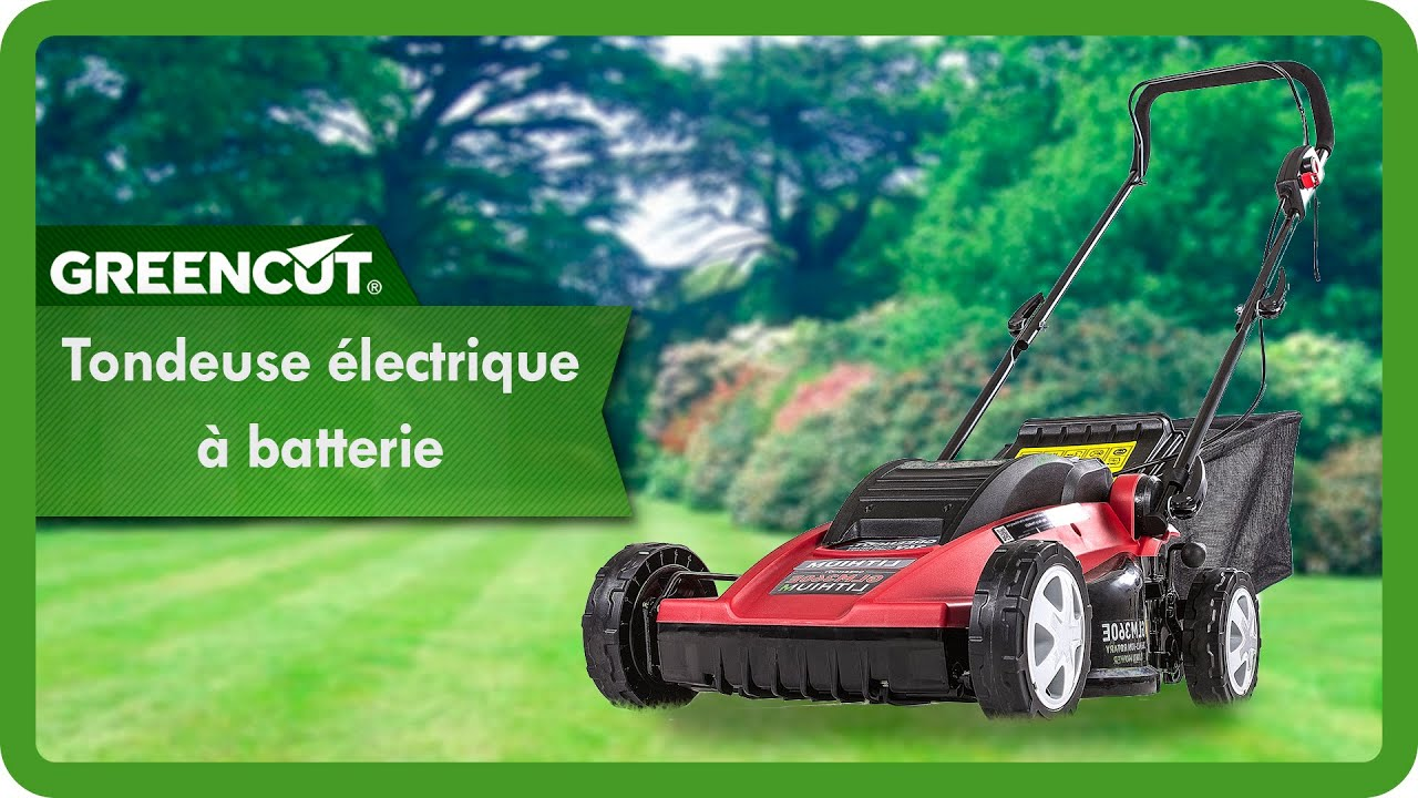 tondeuse batterie 36v largeur de coupe 15 youtube
