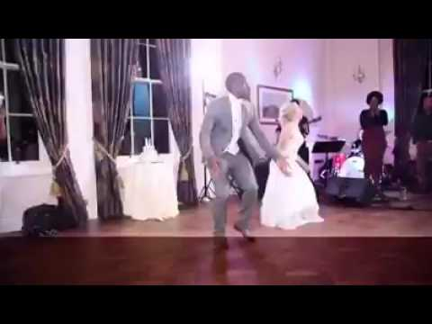 Pix & Video Of Nigerian Man & His White Wife Dancing Yemi Alade Johnny