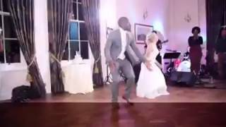 Pix & Video Of Nigerian Man & His White WifeDancing Yemi Alade Johnny