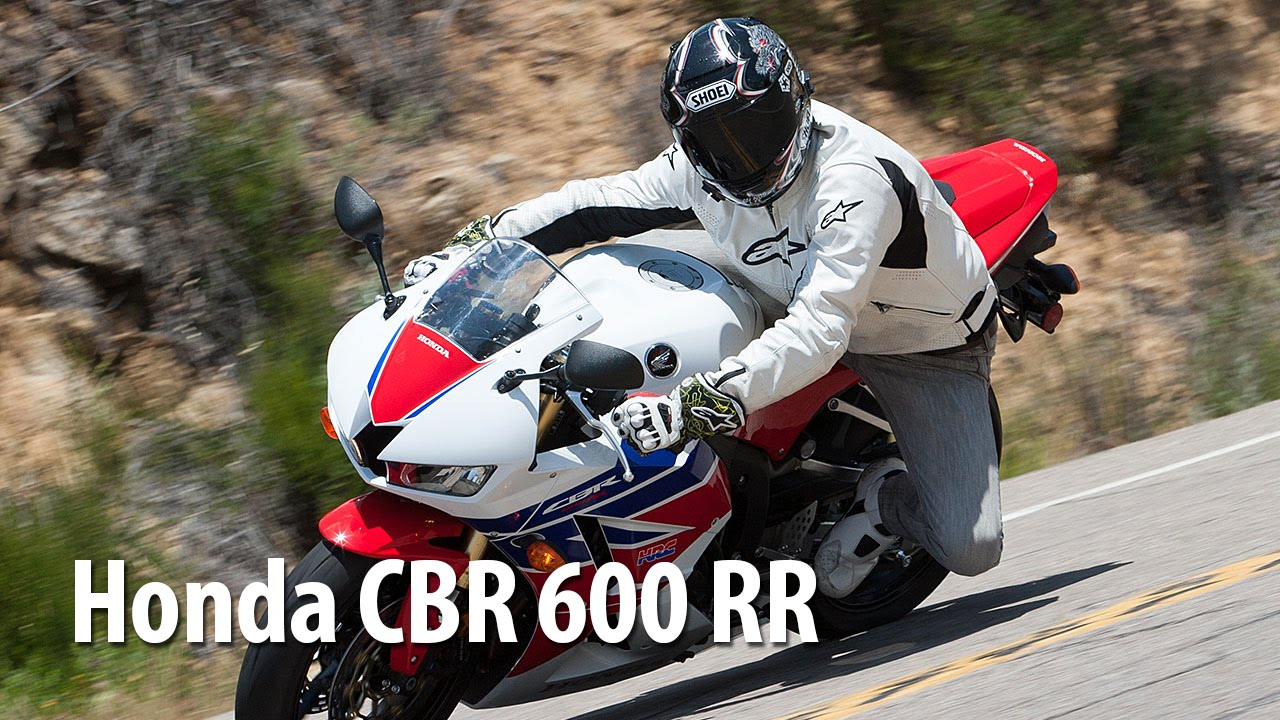 "Honda CBR 600 RR - мотоцикл класса ""супер спорт"". Тест-драйв спортбайка Honda CBR"