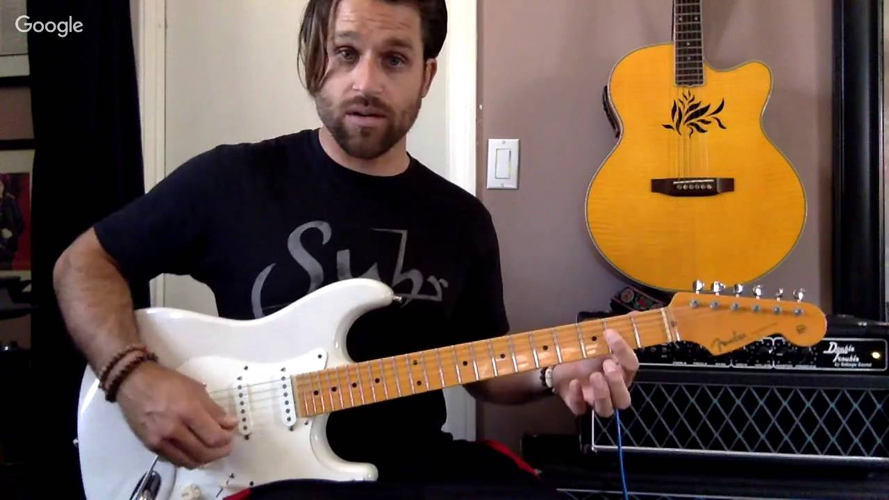 LIVE Webcast with Max Rich - Learn The Styles of Clapton