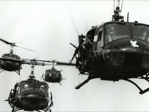 Vietnam War Radio Chatter- Gunship Taking Fire