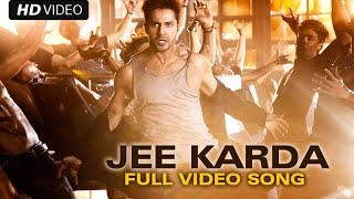 Jee Karda (Full Video Song) | Badlapur