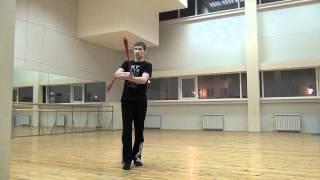 Видео уроки поинга: Трехбитная восьмерка - 3 Beat Weave (Forward)