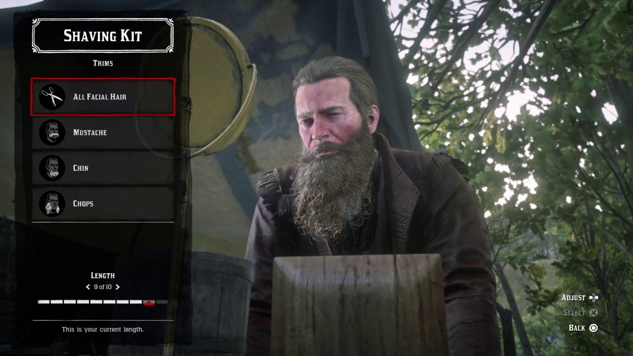 RDR2 , Level 9 Beard (Arthur Morgan) , YouTube