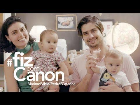 Lentes para fotografar com uma Canon - Beb�s | #FizComCanon
