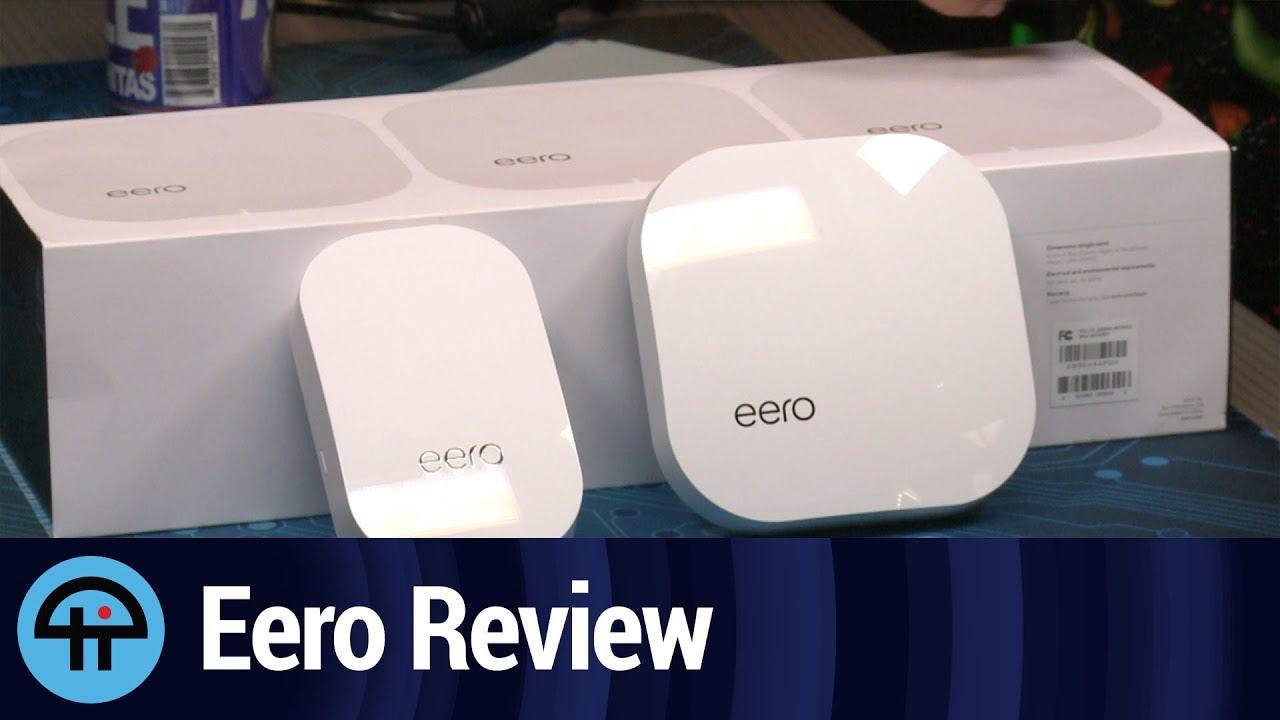 eero mesh wifi review youtube
