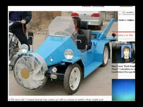 Wind Powered Car Generates Free Energy