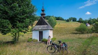 Rowerem przez najdziksze polskie góry - Beskid Niski.  Odkryj Polskę nieznaną.