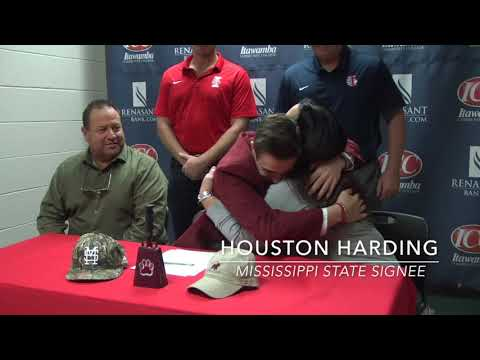 Houston Harding Signs With Mississippi State Baseball