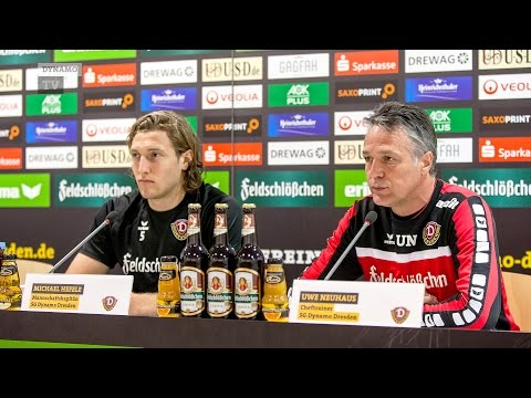 22. Spieltag | RWE - SGD | Pressekonferenz vor dem Spiel