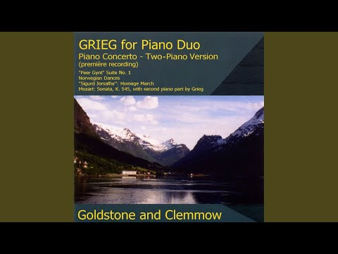 Peer Gynt Suite No. 1, Op. 46 (version for 2 pianos) : III. Anitra's Dance mp3