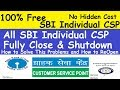 SBI CSP Migration l All Over India All SBI Individual CSP Shutdown l SBI CSP Mapping Full Process
