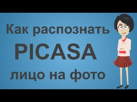 Распознавание лиц по фото программа Picasa. Как распознать лицо на картинке.