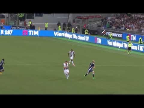 FINALE DI COPPA ITALIA 2017 JUVE - LAZIO 2 A 0 GOL DI DANI ALVES DALLA CURVA SUD