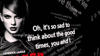 Taylor Swift - Bad Blood ft Kendrick Lamar [Official Lyrics]
