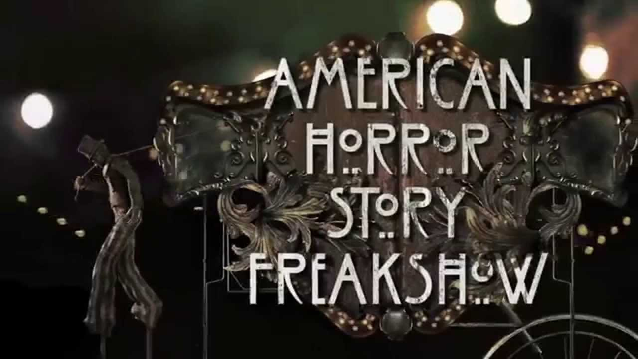 American Horror Story Freak Show - Générique de début HD - YouTube