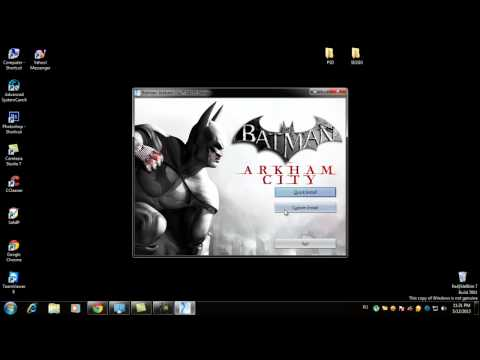 Install Batman Arkham City Game of the Year Edition-SKIDROW