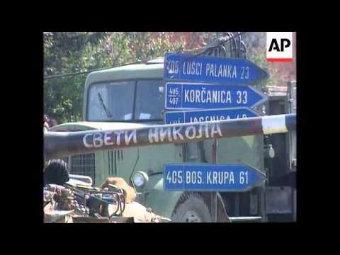 Bosnia - Sanski Most Still In Bosnian Serb Hands - 1995