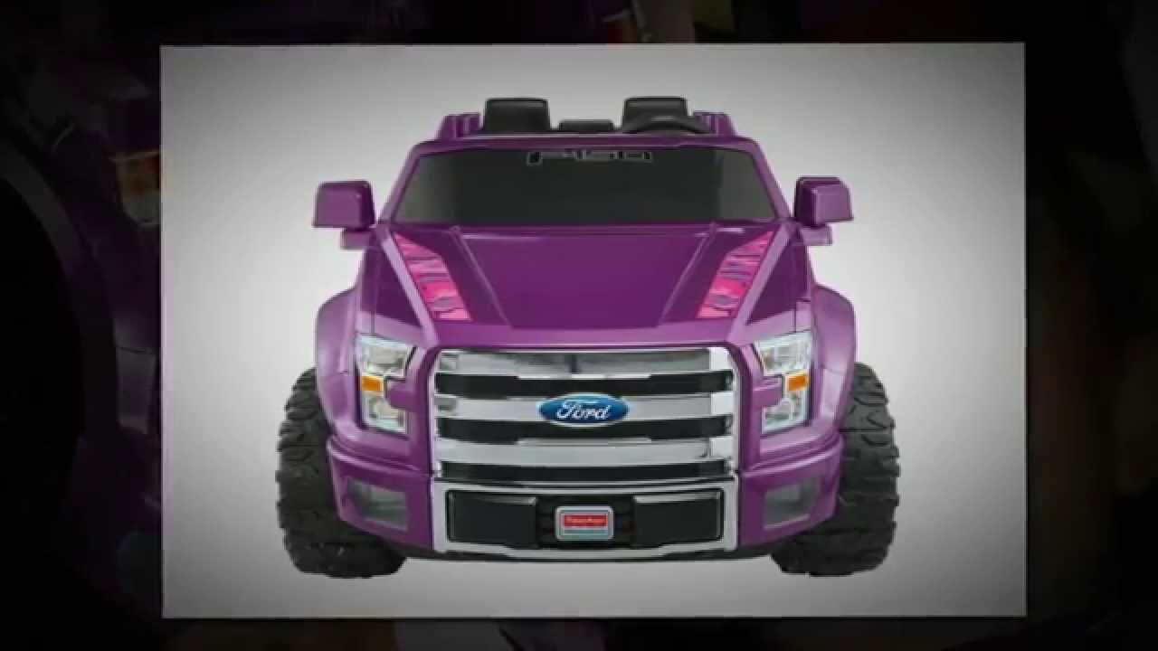 fisher price ford f150 power wheels kids ride on toy youtube. Black Bedroom Furniture Sets. Home Design Ideas