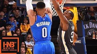 Golden State Warriors vs Oklahoma City Thunder Full Game Highlights / Feb 6 / 2017-18 NBA Season thumbnail