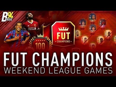 FUT Champions Weekend League Games! Prime Ronaldinho!!!