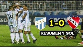 Resumen y gol Atlético Tucumán 1-0 Independiente