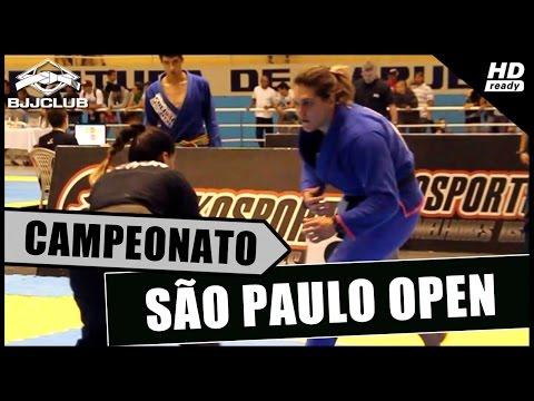 Jiu-Jitsu - Gabi Garcia Vs Luiza Monteiro - SP Open 2014 - BJJCLUB