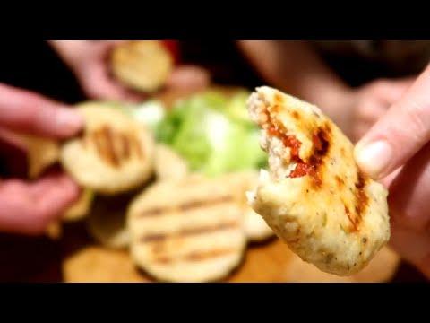 1-nouvelle-façon-de-manger-en-famille-/-steak-de-poulet-farci-/-recette-rapide-et-facile-👍🔝