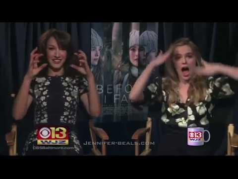 Jennifer Beals and Zoey Deutsch interview on CBS