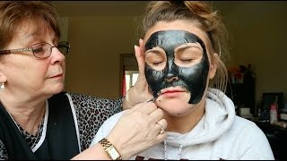 Charcoal Face Mask FAIL!! | It REALLY HURTS