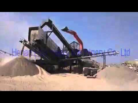 FTM MOBILE CRUSHING WORKING SITE IN OMAN