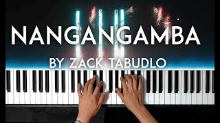 Nangangamba by Zack Tabudlo piano cover with free sheet music видео