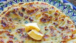 ОБАЛДЕННАЯ ВКУСНОТА ЗА НЕСКОЛЬКО МИНУТ Картофельные лепешки Узбекская кухня