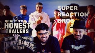 SUPER REACTION BROS REACT & REVIEW Honest Trailers – Mighty Morphin' Power Rangers The Movie!!!!