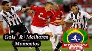 Internacional x Santos - Gols & Melhores Momentos Brasileirão Serie A 2018 30ª Rodada