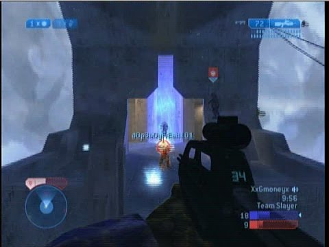 Halo 2 Lockout Team Slayer Gameplay Multiplayer Footage ORIGINAL XBOX Classic Xbox Live