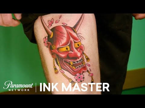 d41db9b820d96 Finesse: Match Your Coach - Elimination Tattoo | Ink Master: Return of the  Masters (Season 10) - YouTube