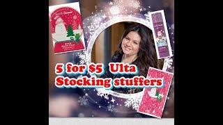 ULTA 5 FOR $5 STOCKING STUFFERS
