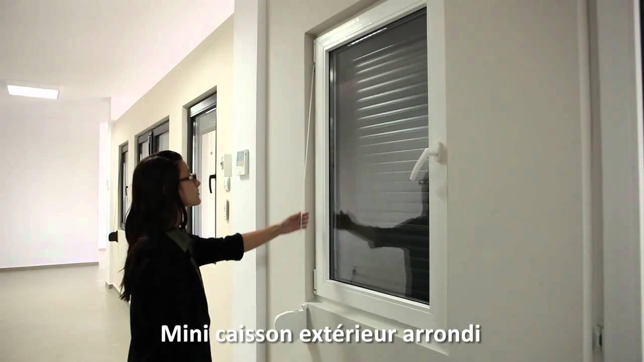 16 volets roulants mca en aluminium avec isolation thermique caisson exterieur arrondi un. Black Bedroom Furniture Sets. Home Design Ideas