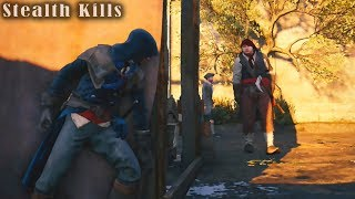 Assassin's Creed Unity: Stealth Kills Gameplay - Master Assassin - Mission Walkthrough - Vol.14