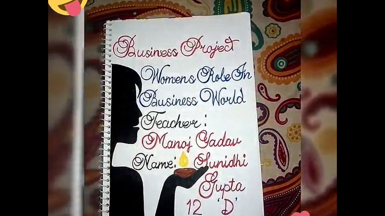 Business Studies Project Class 12 Women S Role In Business World