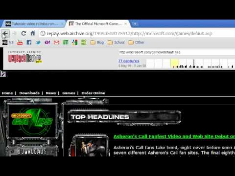 Siturile Web In Trecut | Websites In The Past