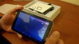 Видео обзор телефон планшет Noname  Android 4.2 за 70$(Видео обзор телефон планшет NONAME Android 4.2 за 70$ Планшет с 3G, 2 сим карты двухъядерный процессор, Озу 512 , память..., 2014-05-15T07:11:27.000Z)